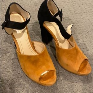 Cole Haan Ankle Strap Heel